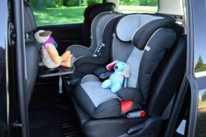 Такси с 2 детскими креслами