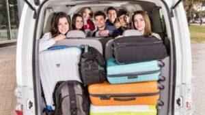 Минивэн такси сколько человек