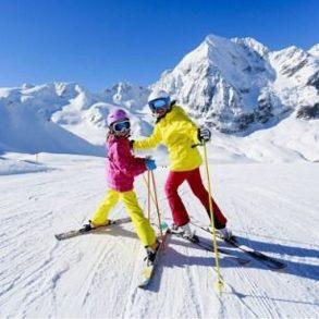 Такси с лыжами
