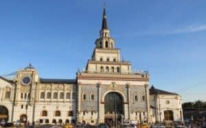 Такси минивэн на Казанский вокзал
