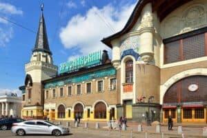 Такси минивэн на Ярославский вокзал