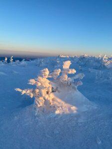 Кемеровская зима - горные лыжи